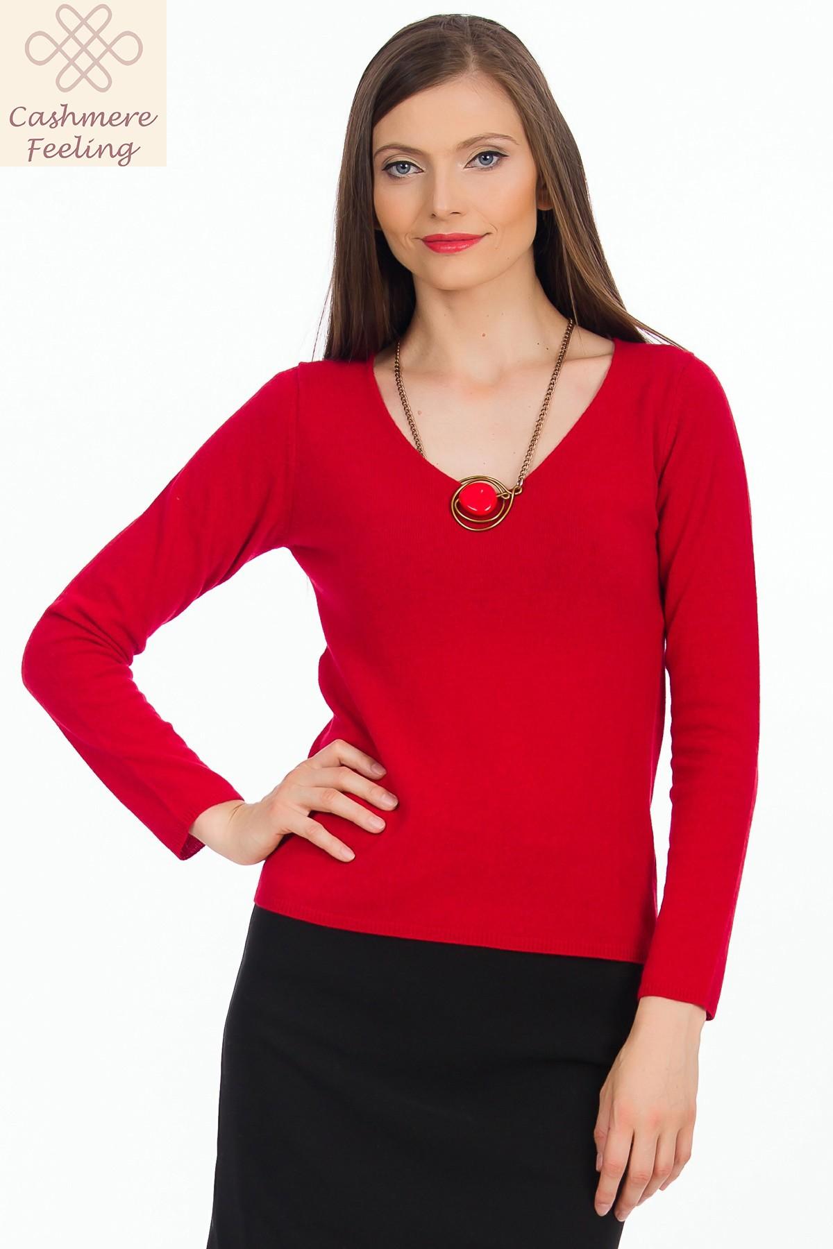 pulover-rosu-sense