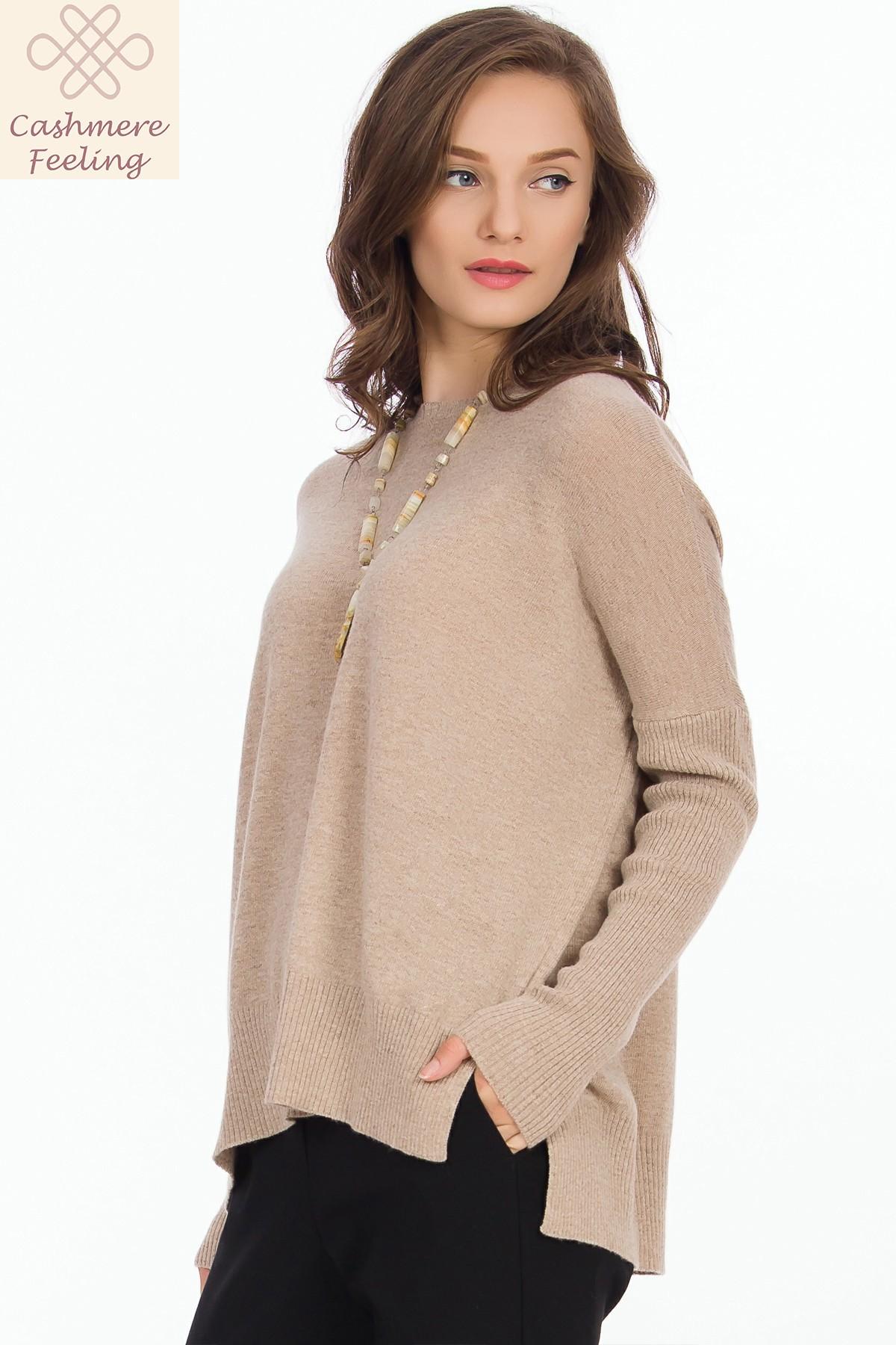 pulover-bej-cashmere-sense