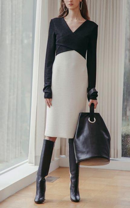 rochie-alb-negru-2019