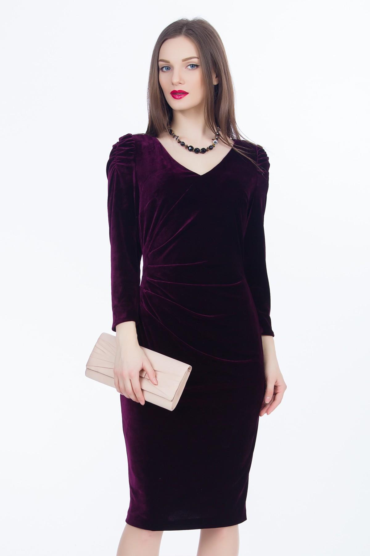 rochie-catifea-violet-sense