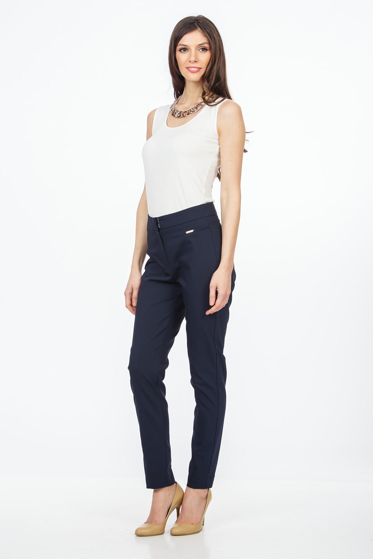 pantaloni-bleumarin-talie-inalta-sense