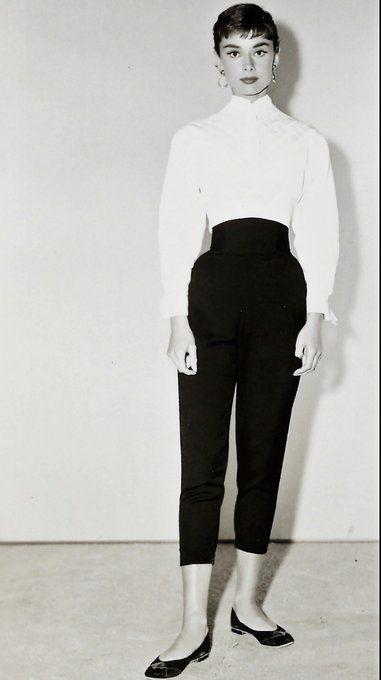 stil-vintage-pantaloni-talie-inalta
