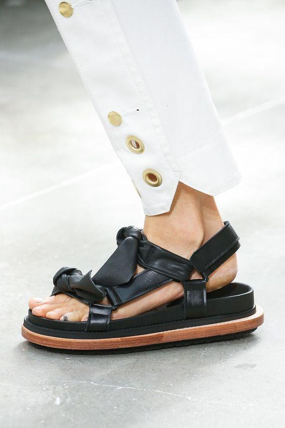 sandale-negre-casual