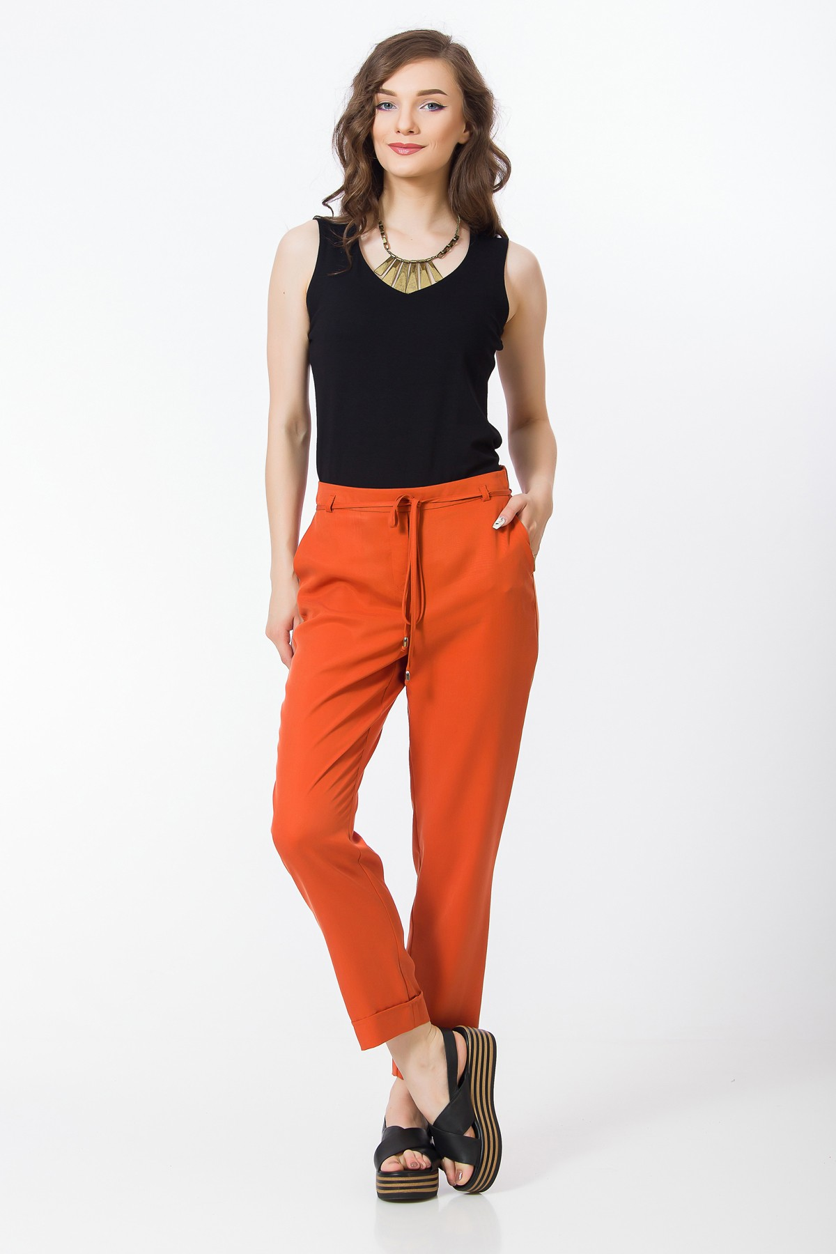 pantaloni-tencel-oranj-sense