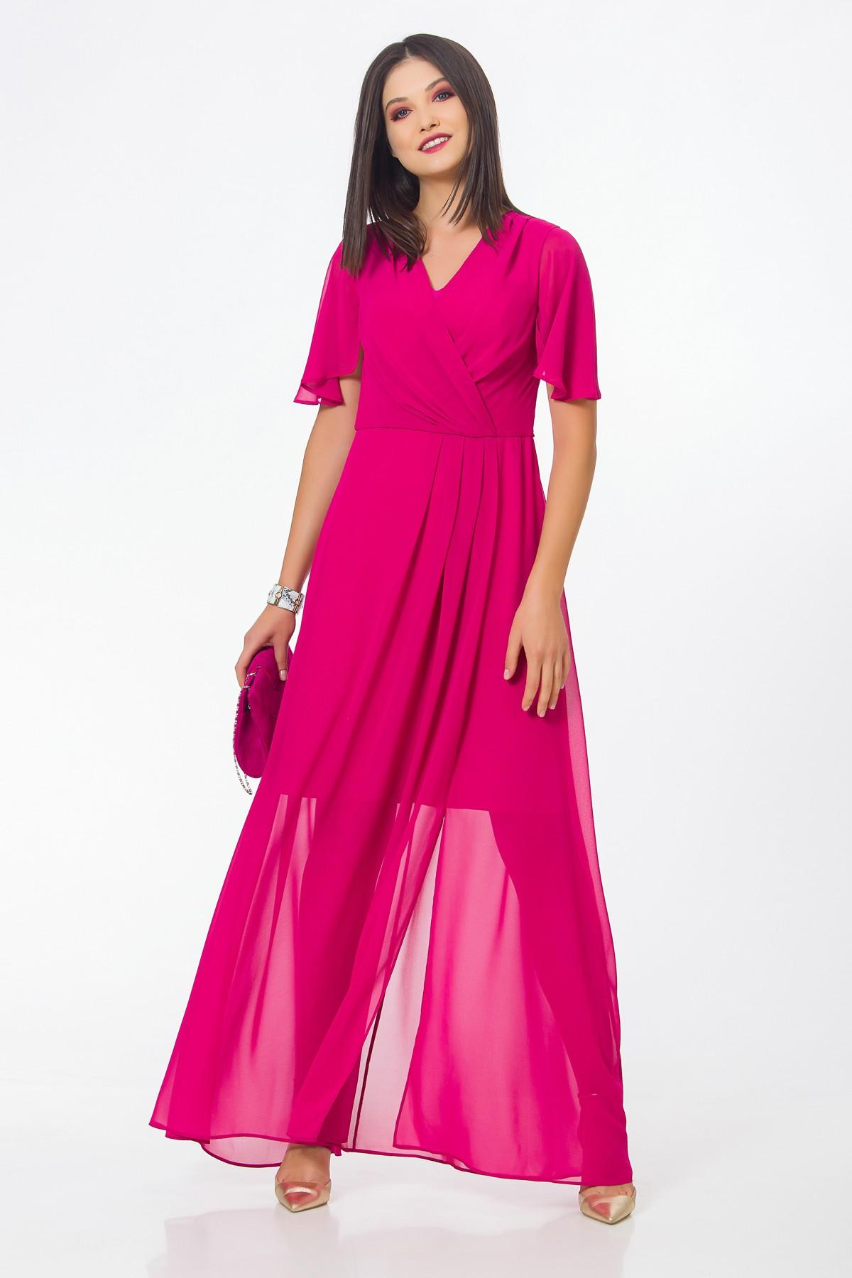 rochie-lunga-roz-sense