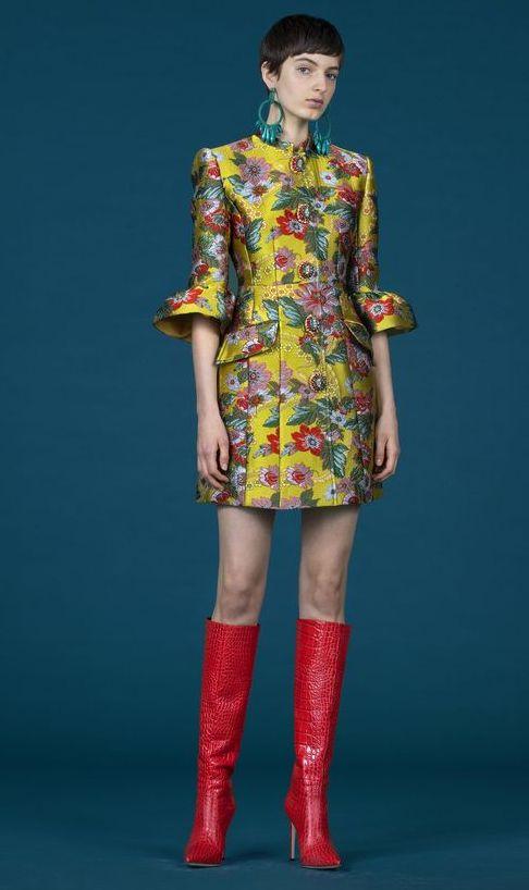 rochie-scurta-multicolora