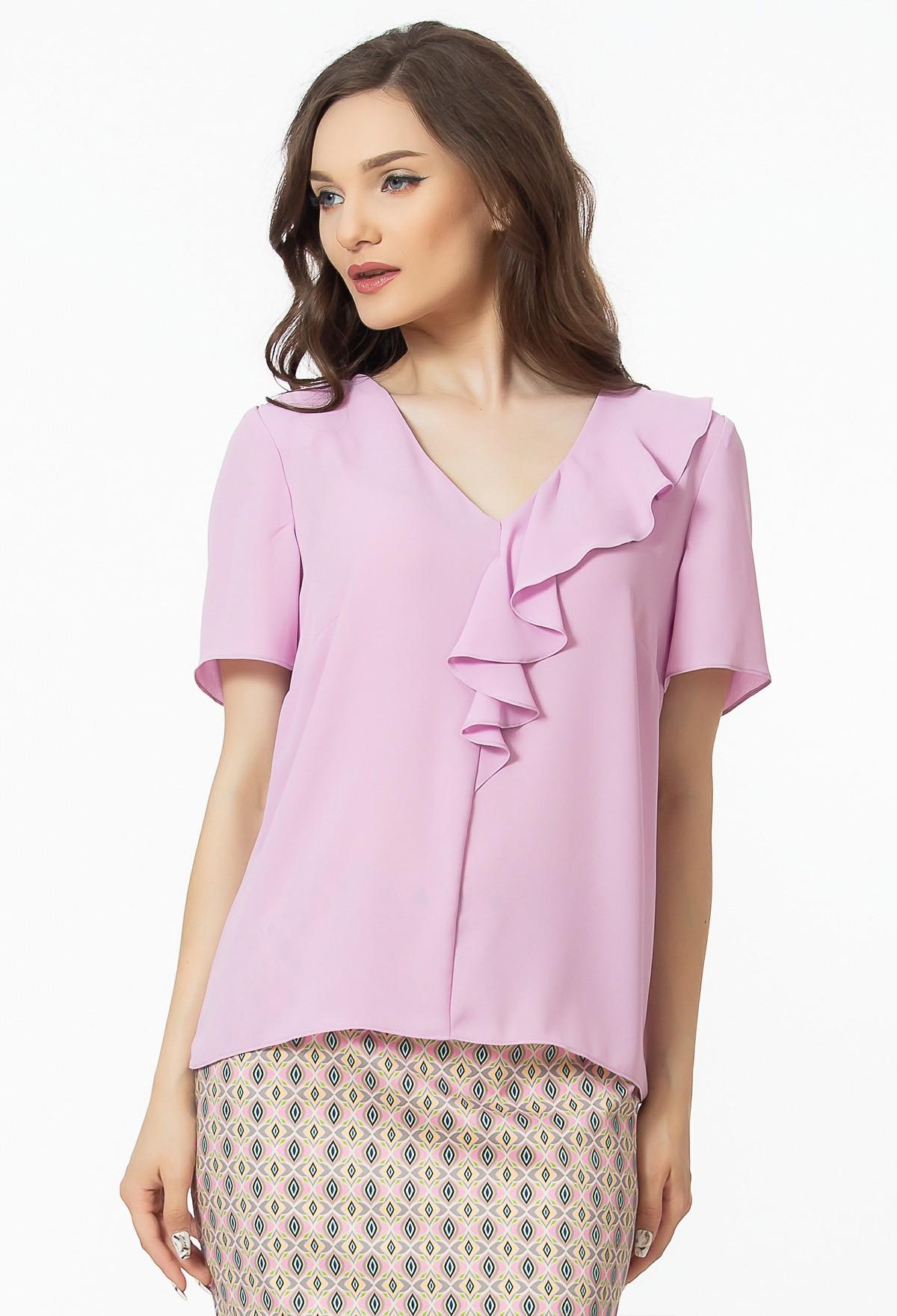 bluza-volane-roz-sense