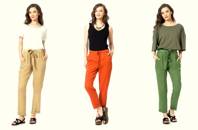 In vs tencel-cum alegem pantalonii perfecti pentru zilele calde